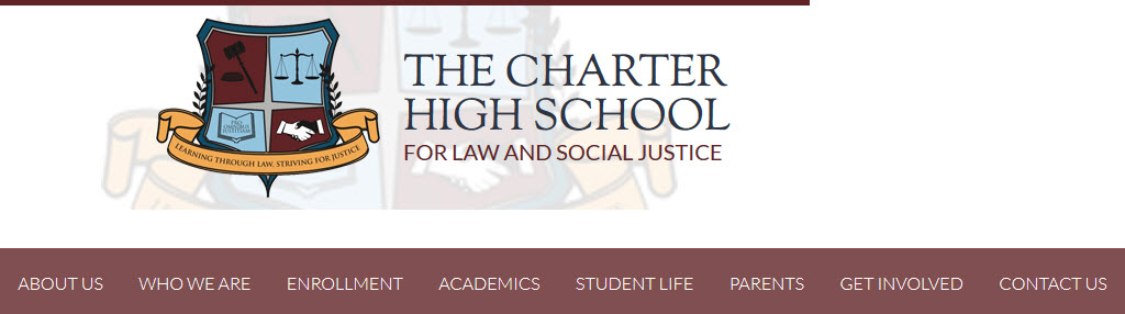 The Charter High School for Law and Social Justice